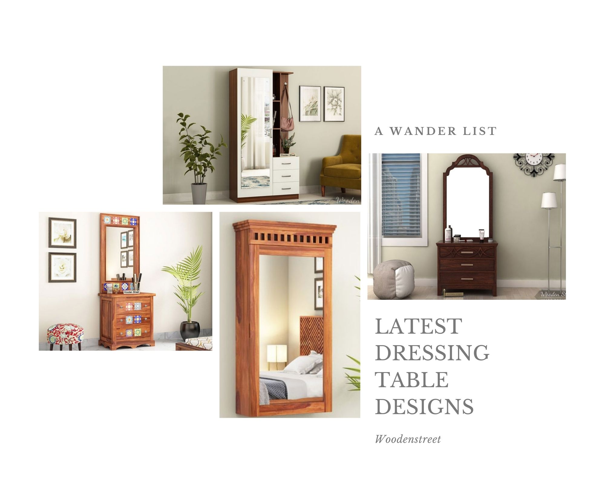 latest Dressing Table Designs